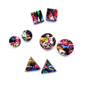 Galaxy Stud Earring
