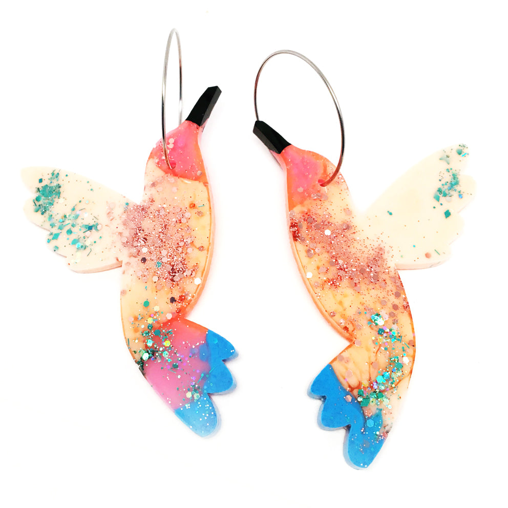 Hummingbird Hoops · SECONDS