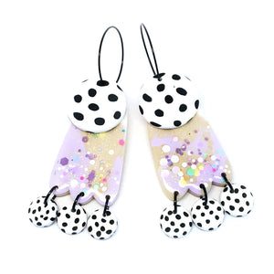 blossom & cat + Plain Jane · Lily Dangle · Lemon Lilac