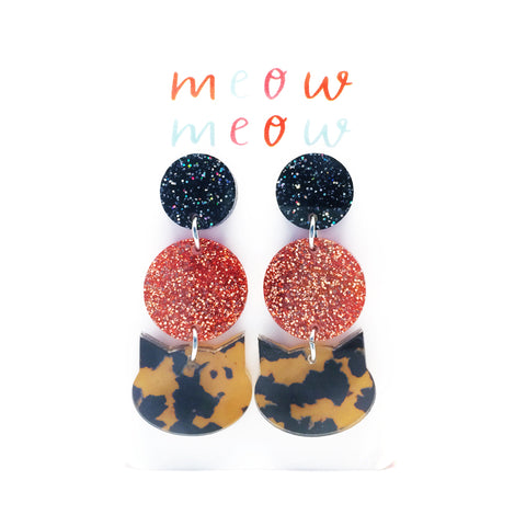 Meow Triple Drop · Leopard & Copper