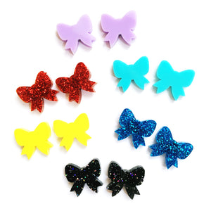 Pretty Bow Stud · Choose your Colour