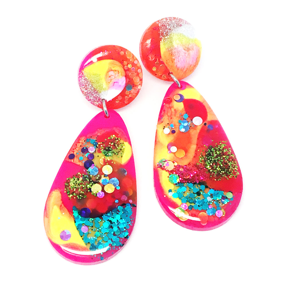 Resin Dangle · Raindrop · Multi