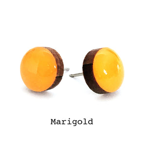Dot Earrings · Marigold