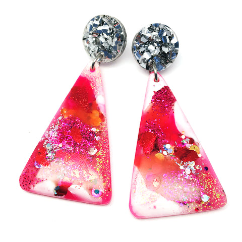 Resin Dangle · Moon Mountain · Pinky White