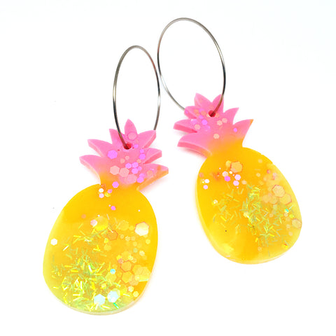 Pineapple Hoops · Yellow