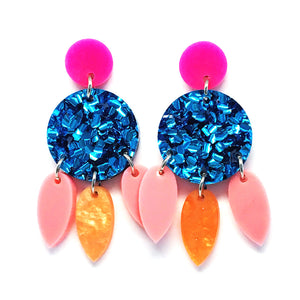 Mini Dangle · Droplets · Blue