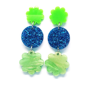 Mini Dangle · Daisy · Green
