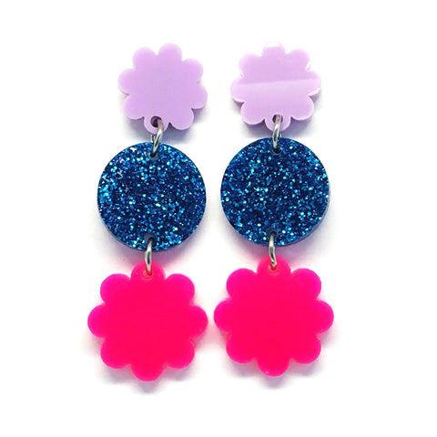 Mini Dangle · Daisy · Hot Pink
