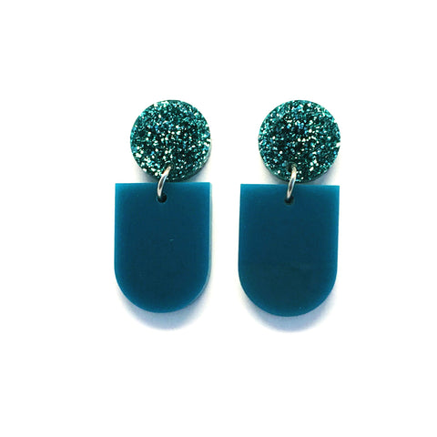 Mini Dangle · Bowl · Teal