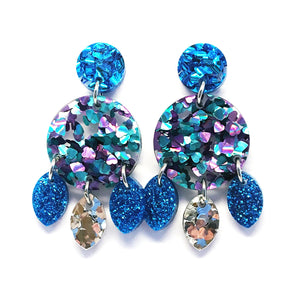 Mini Dangle · Droplets · Peacock