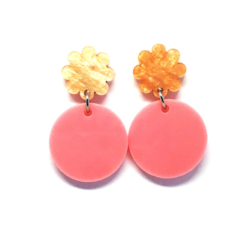 Mini Dangle · Moondrop · Pink Flower