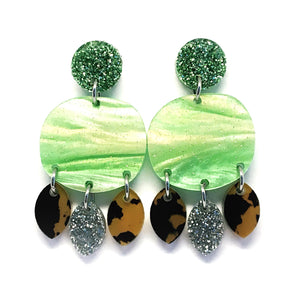 Mini Dangle · Organic · Green