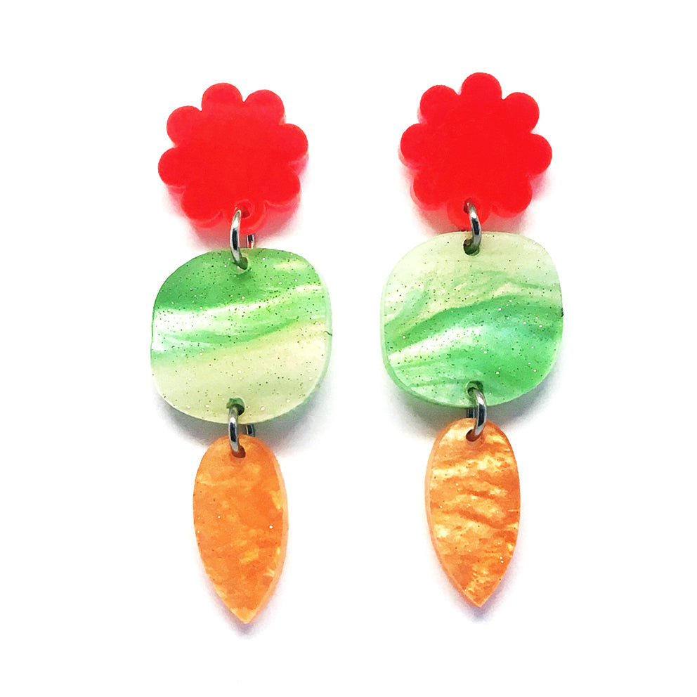 Mini Dangle · Garden · Green