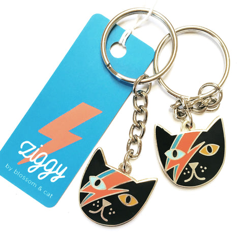Mr Meowie Cat Keyring · SECONDS · Read Description