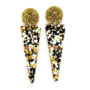 On Point Dangles · Polka Dot