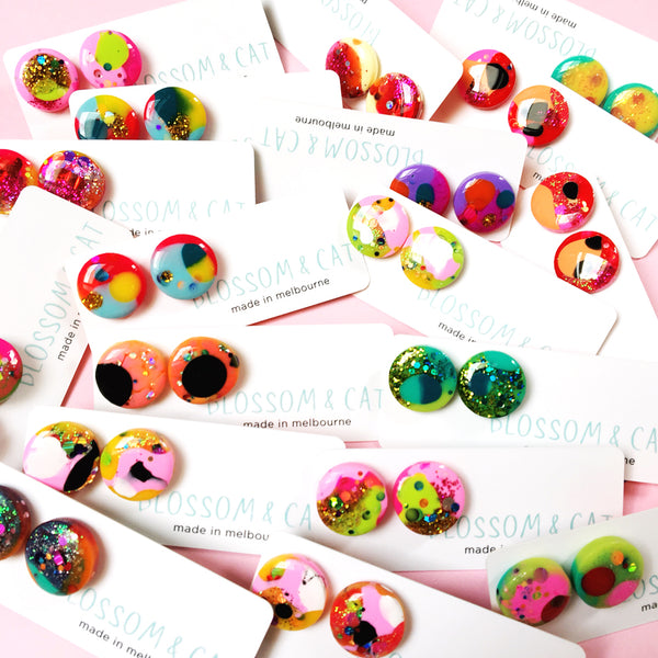 Resin Stud · Medium · 16mm · 4