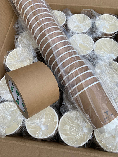 Packaging of our Compostable Products