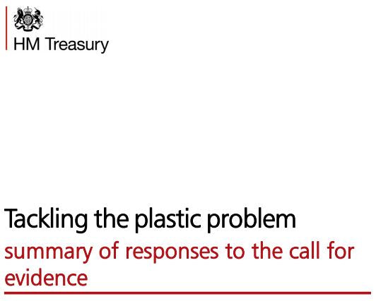 News Release - Government Paper on 'Tackling the plastic problem'