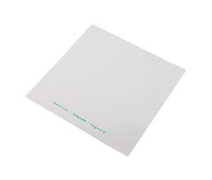 Clear Fronted White Backed Bags - PLA - Compostable