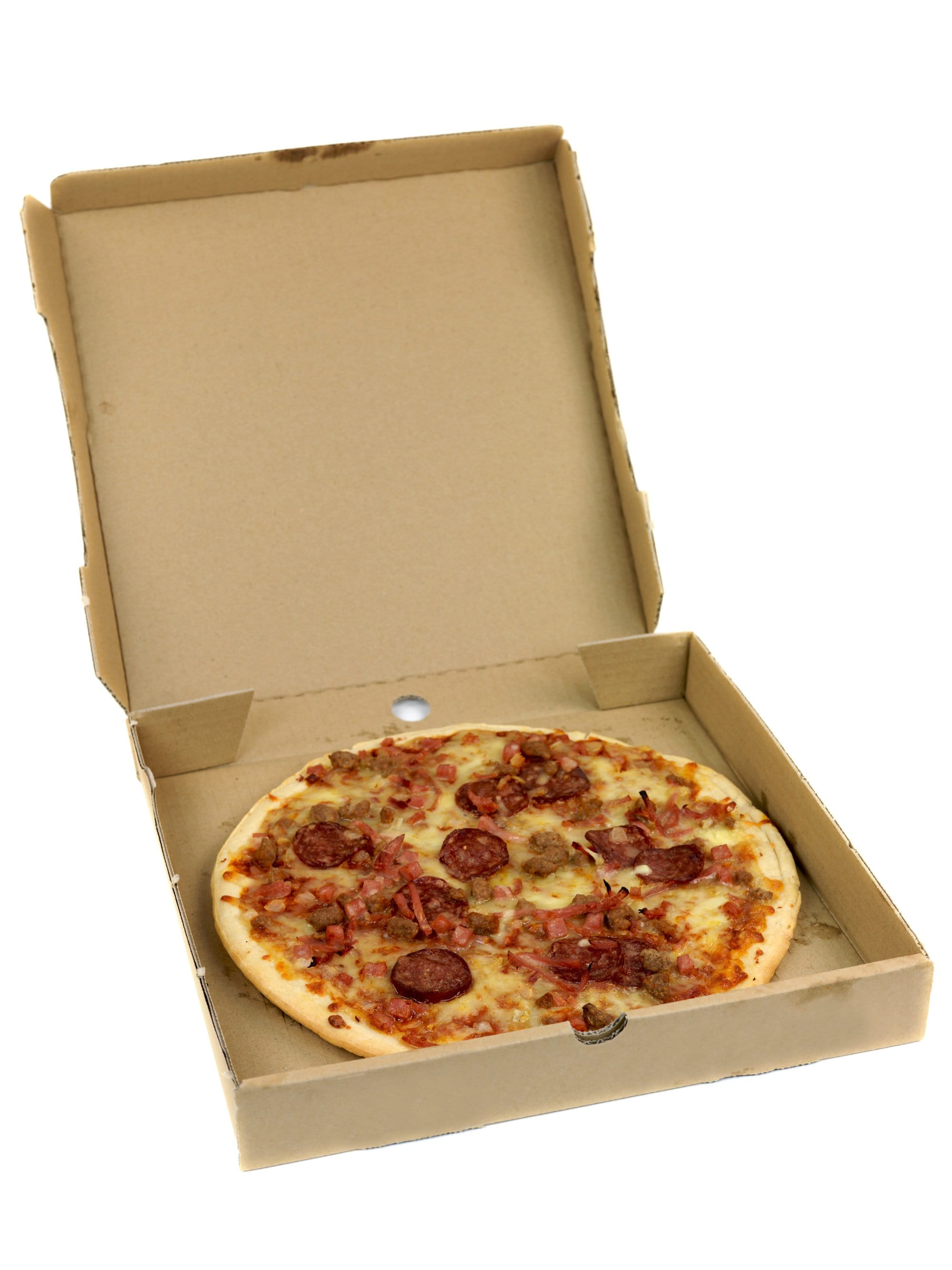 Pizza Boxes - Brown Kraft - Recyclable & Compostable - NaturePac