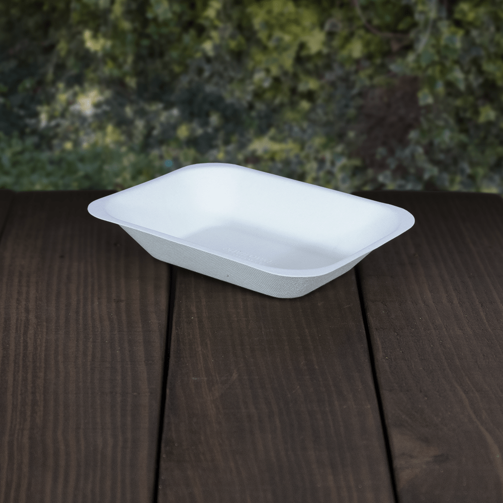Bagasse Chip Trays - Compostable - NaturePac