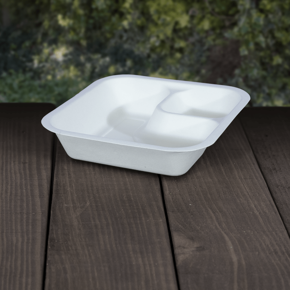 Takeaway Food Trays - Compostable - NaturePac