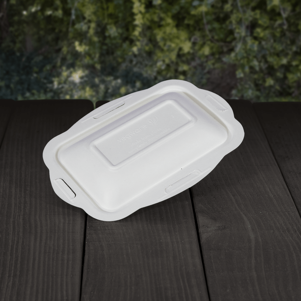 Lids for Takeaway Food Trays - Compostable - NaturePac