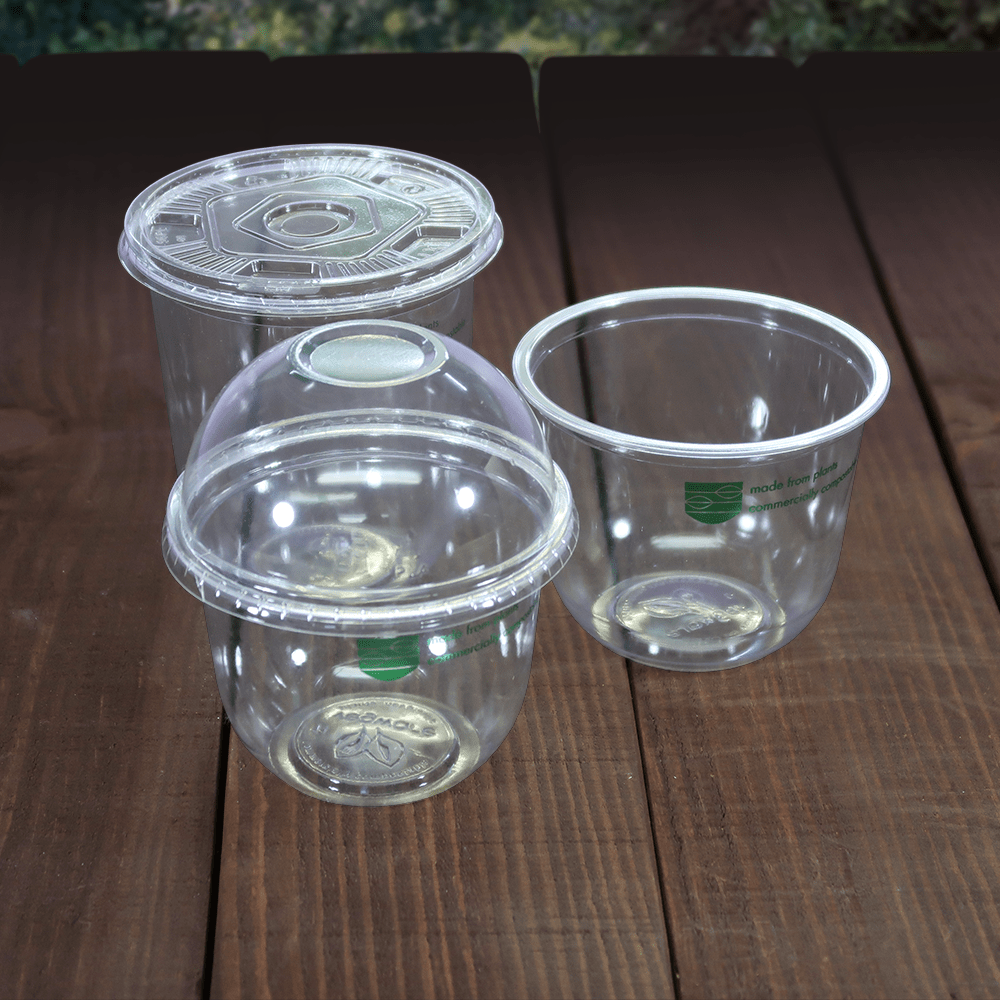 Bella Pot Lids & Inserts - Compostable - NaturePac