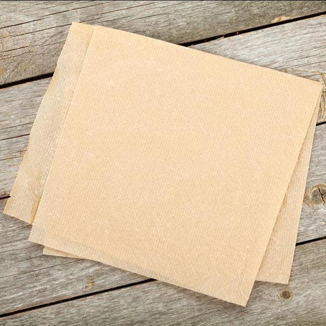 Greaseproof Paper - Brown - Recyclable & Compostable - NaturePac