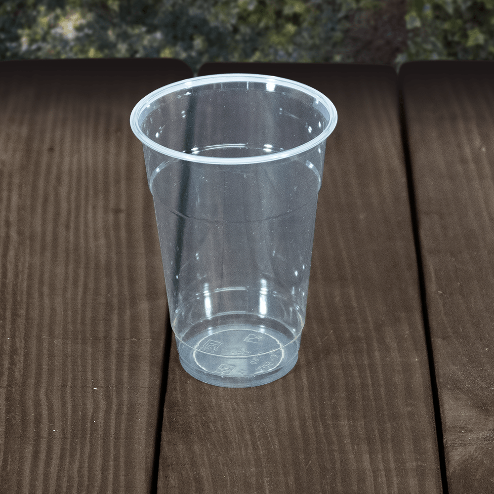 Smoothie Cups - Clear - Compostable