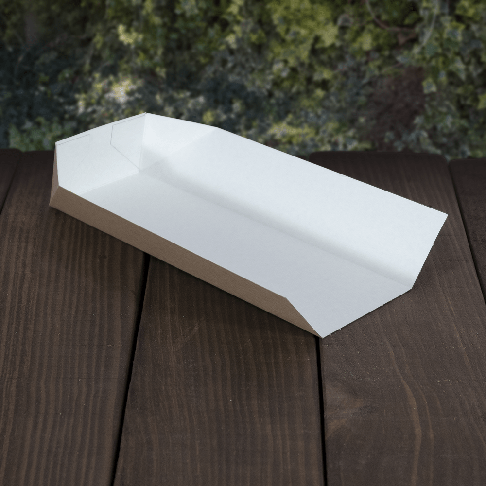 Food Trays - Open Kraft - Recyclable & Compostable - NaturePac