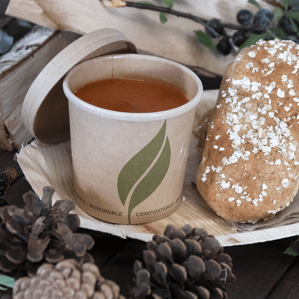Soup Pots - Brown Kraft - Compostable - NaturePac