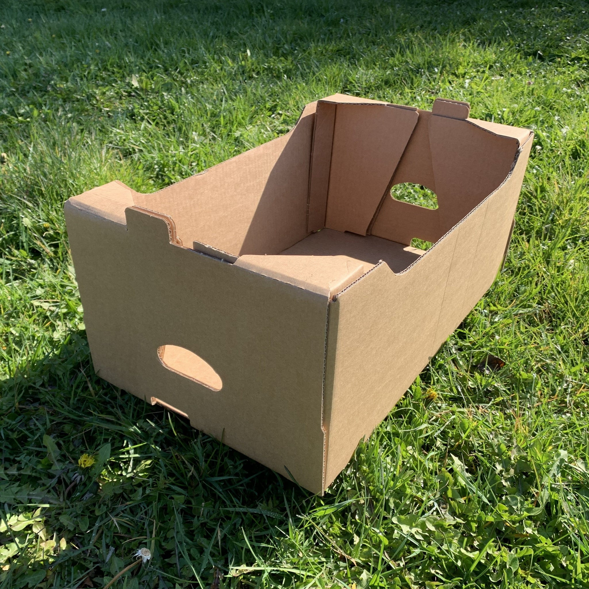 Home Delivery Boxes - Brown Cardboard - Recyclable & Compostable -Bulk Buy - NaturePac
