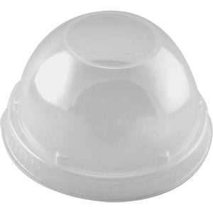 Compostable Smoothie Cup Lid - Domed