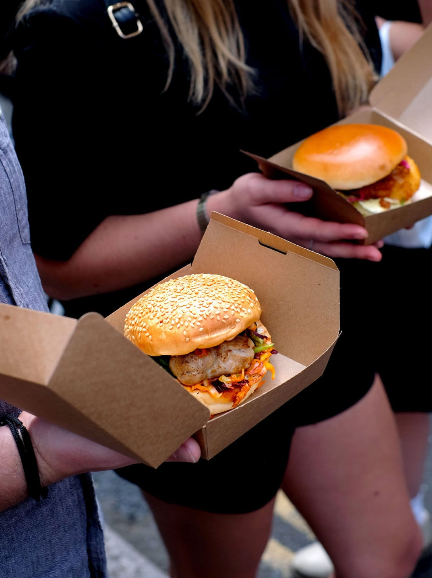 Burger Boxes - Brown Kraft Board - Recyclable & Compostable - NaturePac