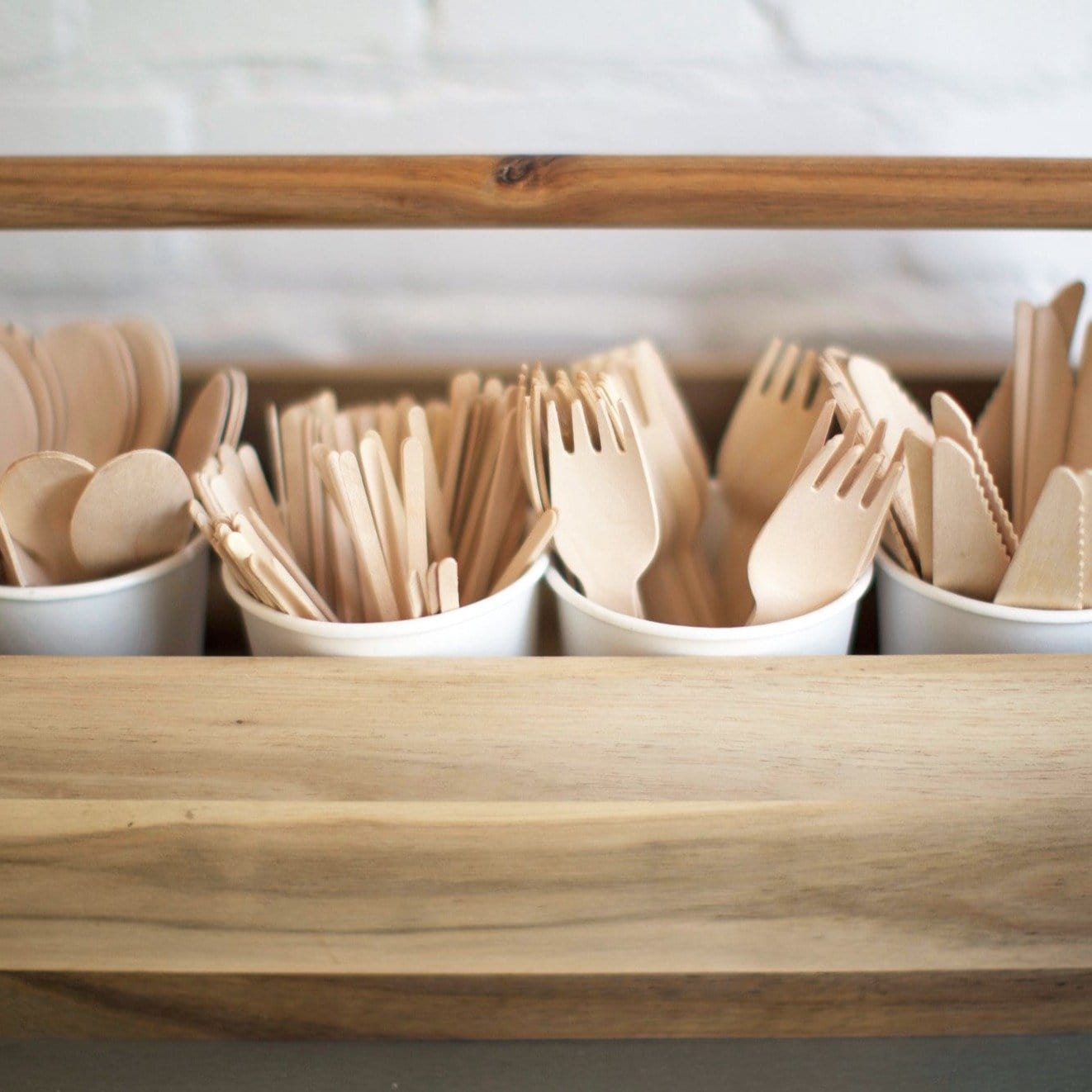 Cutlery - Wooden - Compostable - NaturePac