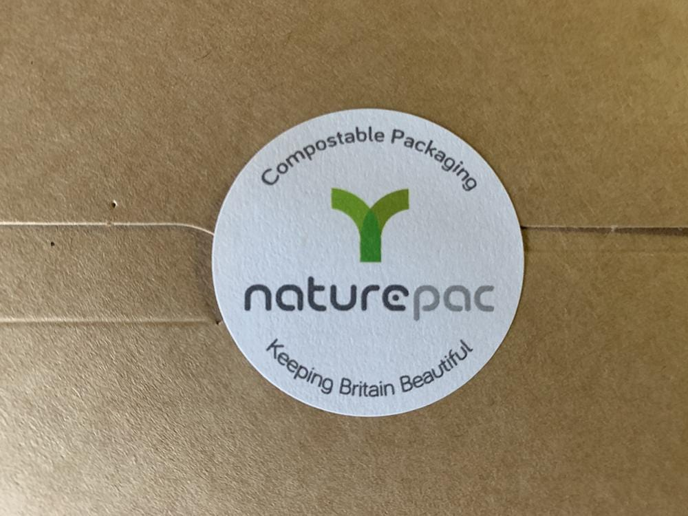 Compostable NaturePac Label