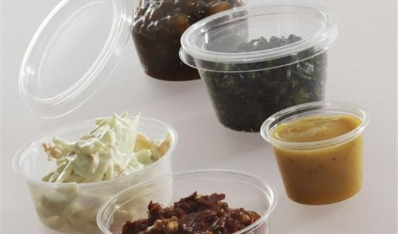 Compostable Clear Portion Pots
