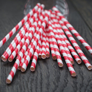 Compostable Paper Straws