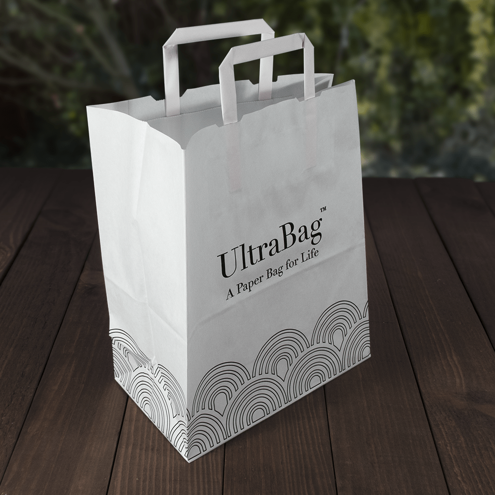Reusable Paper Carrier Bags - Recyclable - Evolution Packaging Products