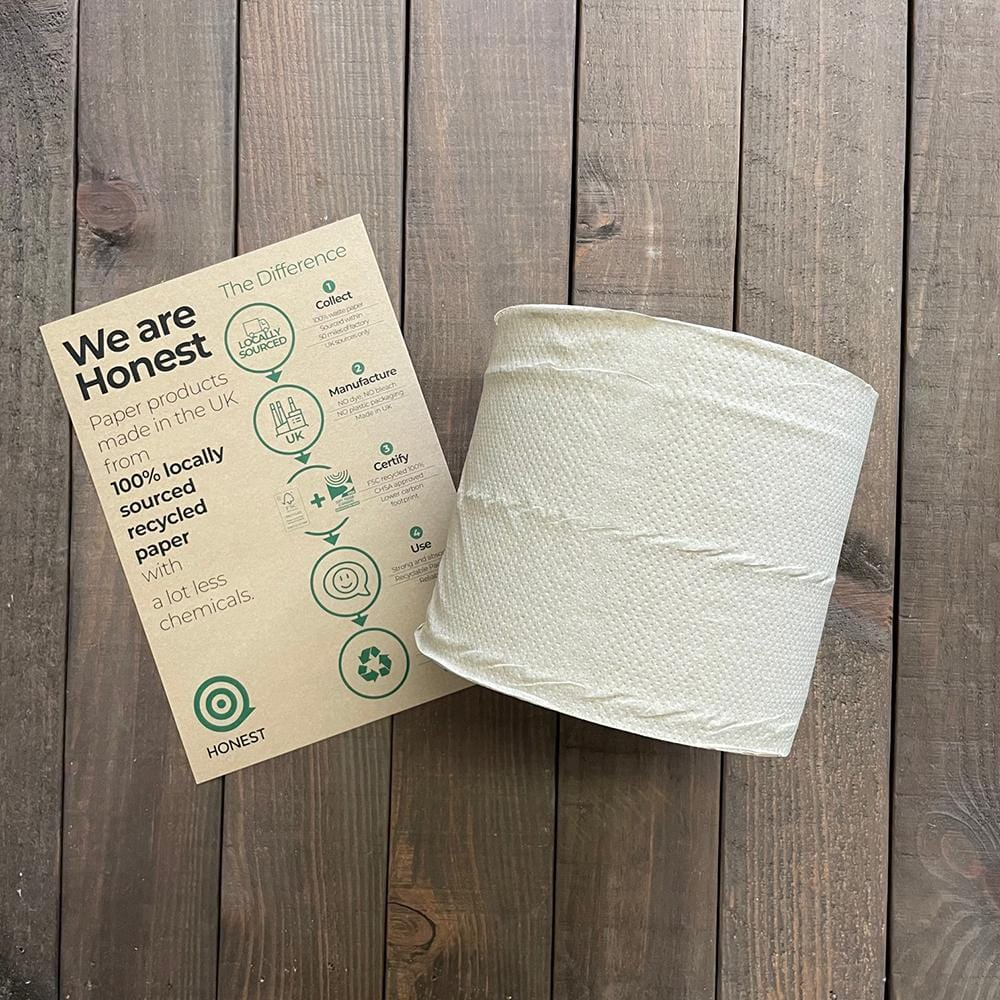 Natural Centrefeed - 2ply - Compostable and Recyclable - NaturePac