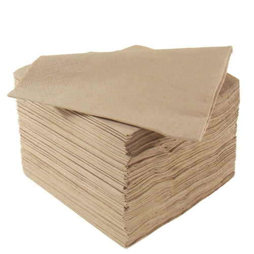 Natural Napkins - 2ply 33cm