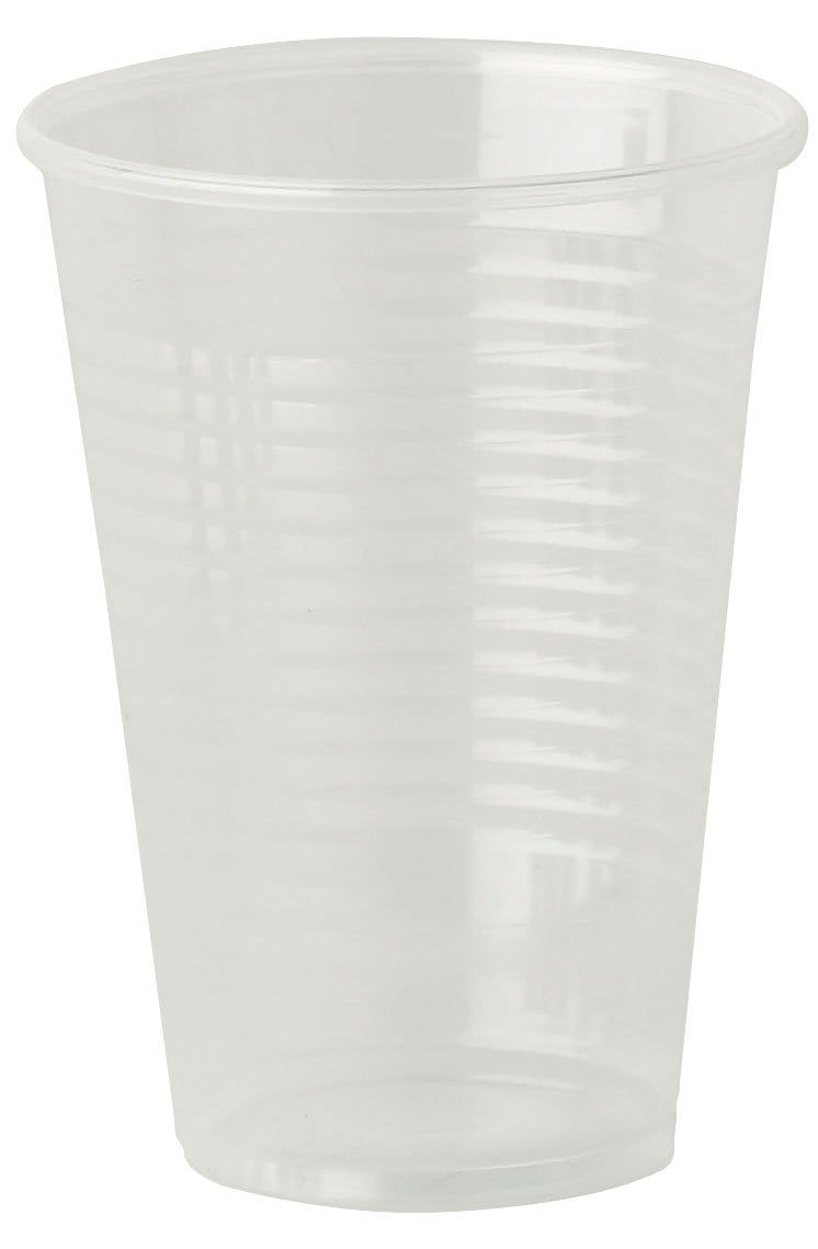 Clear Drinking Cups - 7oz - Compostable - NaturePac