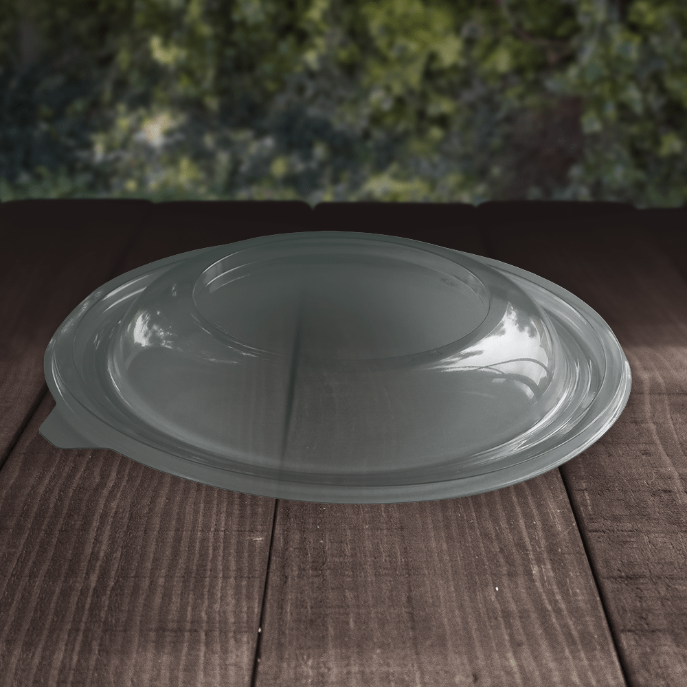 rPET Salad Bowl Lids - Recyclable