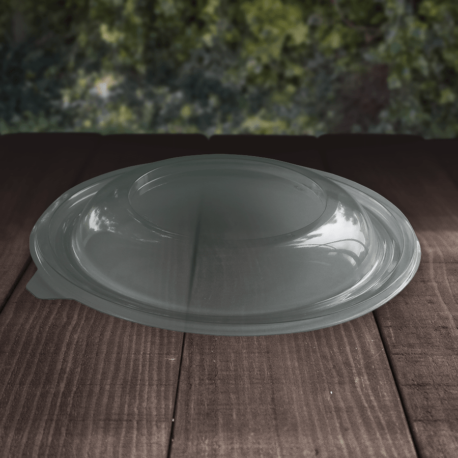 rPET Salad Bowl Lids - Recyclable - NaturePac