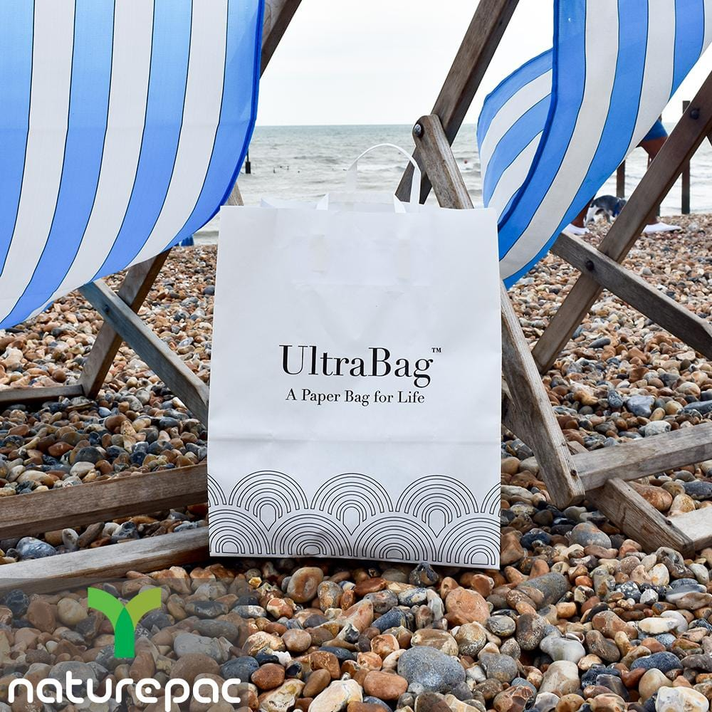 Reusable Paper Carrier Bags - Recyclable - NaturePac