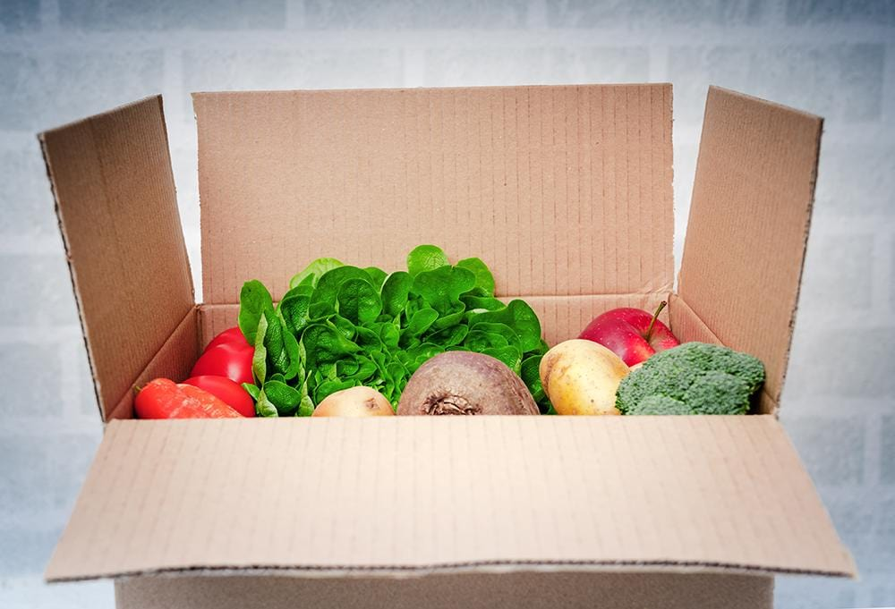 Home Delivery Boxes - Brown Cardboard - Recyclable & Compostable