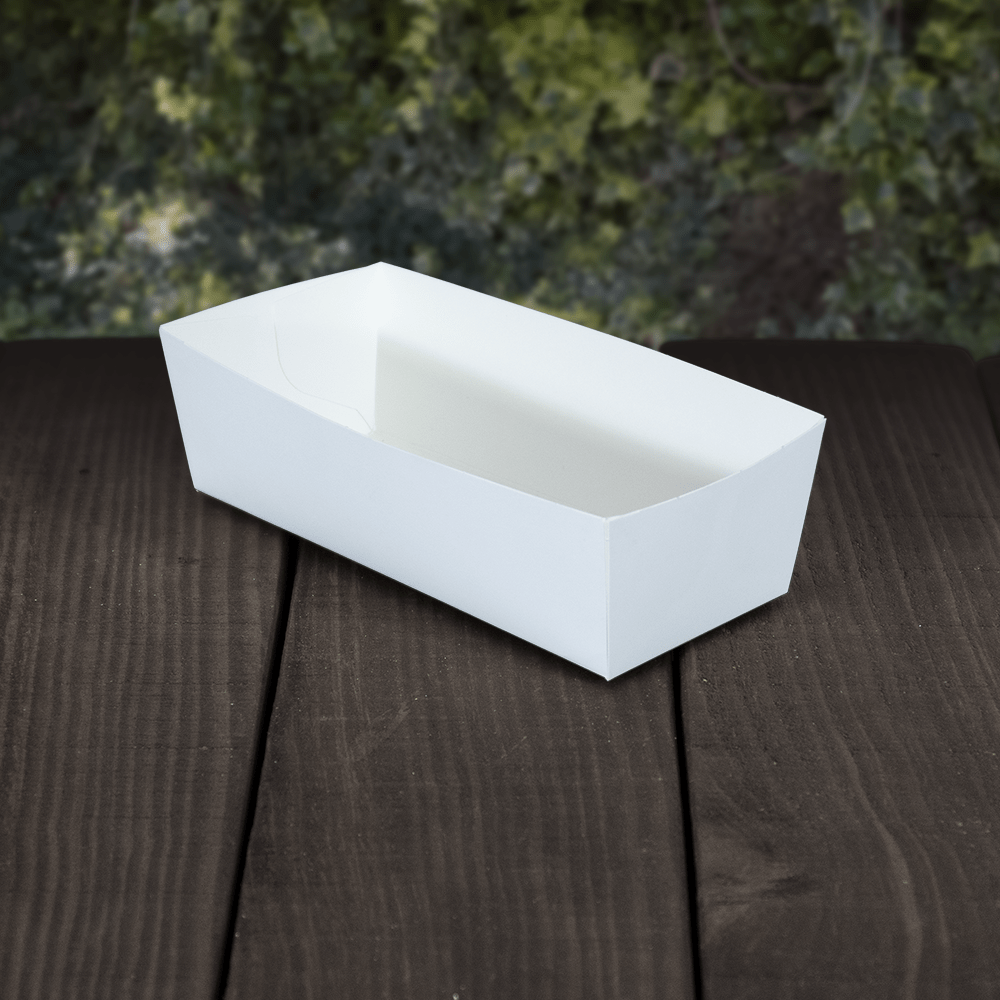 Compostable Open Kraft Food Tray