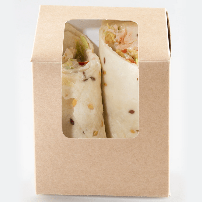 Tortilla Wrap Boxes - Compostable