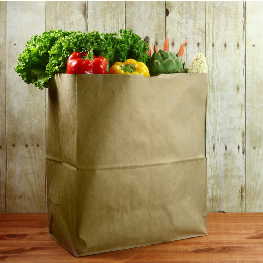 American Style Paper Bags - Recyclable & Compostable